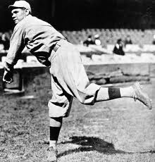 Babe Ruth while he was with the Boston Red. Getty Images