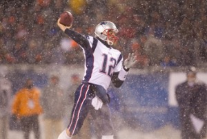 Tom Brady (Photo By Dilip Vishwanat/Getty Images)