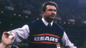 Mike Ditka after Superbowl XX. (Getty Images)