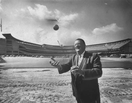 Former Dodgers Owner Walter O'Malley. (Getty Images)