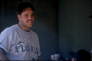 Mike Piazza as a Florida Marlin (Getty Images)