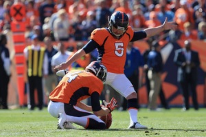 Matt Prater, record holder of longest field goal in NFL history. (Getty Images)