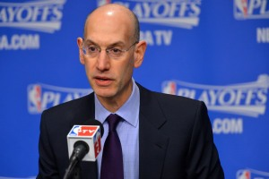 NBA Commissioner Adam Silver. (Getty Images)