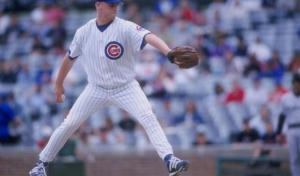Kerry Wood during his 20K performance in 1998. (Getty Images)