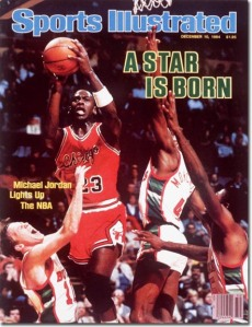 The Sports Illustrated cover that would add to Michael Jordan's superstar status. (Sports Illustrated)
