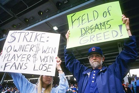1994 baseball strike This weekend we'll present a retrospective on the 1994 baseball season but first, a look back on the infamous strike of that season, and.