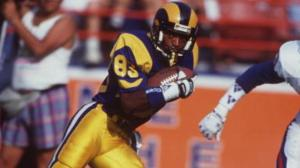 """NFL Record Holder - Willie """"Flipper"""" Anderson (Getty)"""