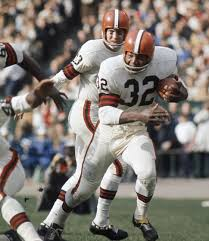 The legendary Jim Brown. (Getty Images)
